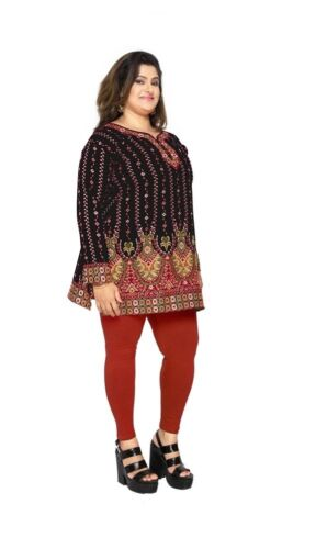 PLUS SIZES Women Kurta Indian Kurti Tunic Shirt Dress eplus111B UK STOCK
