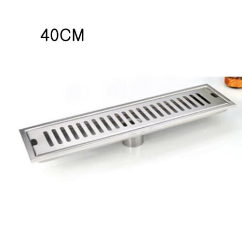 Shower drain 304 stainless steel shower floor drain long Linear drainage Channel