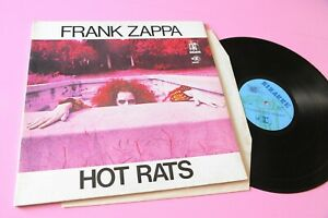 Frank Zappa LP Hot Rats Italy Orig 1971 NM Gatefold Cover Grooved Label