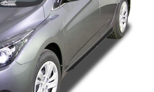 RDX Seitenschweller Slim schwarz glänzend für HYUNDAI i40 bis 2015 /& ab 2015