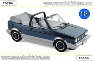 Volkswagen-Golf-Cabriolet-Bel-Air-1992-Blue-metallic-NOREV-NO-188404-1-18