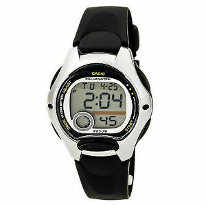 bc34e5c36593 Casio Women s Digital Sport Watch Black Resin Strap for sale online ...