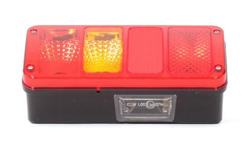 Heckleuchte Multifunktionslampe Rückleuchte Bus Anhanger 6in1 Links 12//24V Nr185