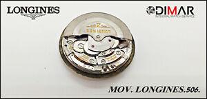 Vintage Movement Longines 506- Diametro. Of Esfera. 38.35mm. REF.51262961