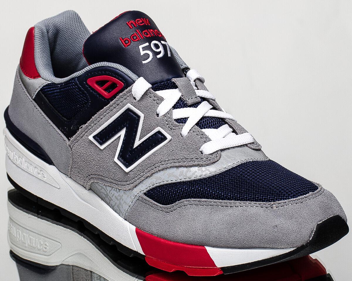 New New New balance 597 nb nb597 männer lifestyle casual turnschuhe neuen grauen marine ml597-aab 076d47