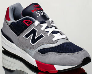 f84e5c206863d New Balance 597 NB597 men lifestyle sneakers grey navy Last size 7 ...