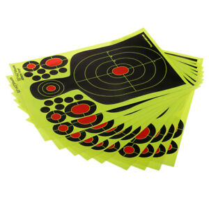 800pcs Shooting Targets Self Adhesive Paper Splatter Reactive Target 5cm