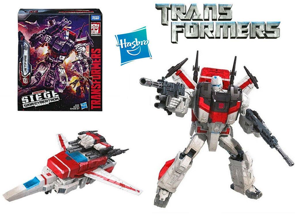 Transformers asedio guerra por Cybertron comandante Jetfire líder WFC-S28 Figura Juguete