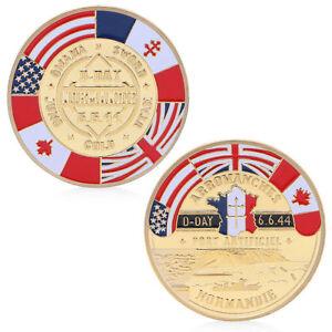 Golden Deutsche Reichsbank Commemorative Coin Challenge Coin