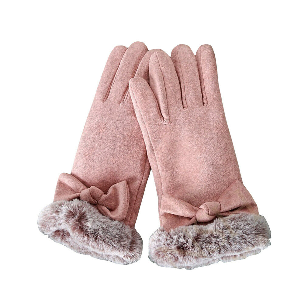 Women for Hand Protection Mitts Driving Keep Warm Thicken Plush A Pair of