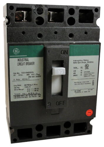 New Surplus General Electric GE TED136050 TED136050WL