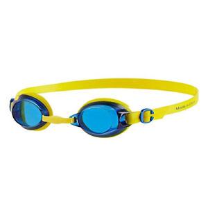 Speedo-Jet-Junior-Enfants-UV-Anti-Brouillard-Natation-Lunettes-6-14-Ans-Bleu