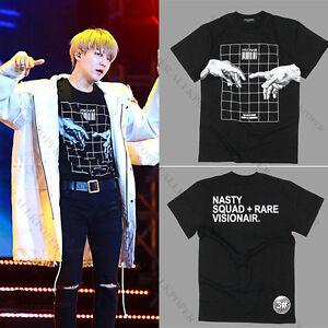 KPOP-BTS-Suga-T-shirt-Bangtan-Boys-Merchandise-Tshirt-Unisex-Cotton-Short-Sleeve