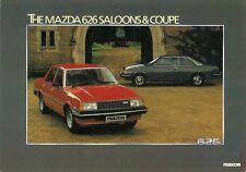 Mazda 626 1981 UK Market Leaflet Sales Brochure 1.6 DX 2.0 SDX Saloon Coupe
