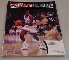 KU Jayhawk Basketball Program - Winthrop Jan 6, 1990