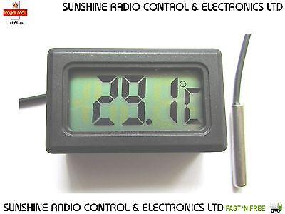 Digital LCD Thermometer For Freezers Fridges Refrigerator Brand New UK Stock