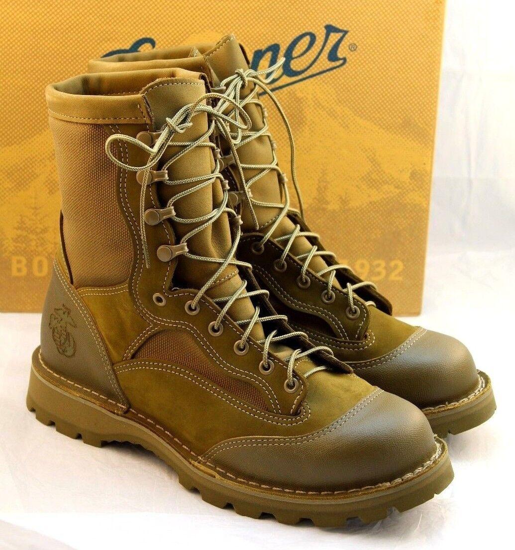 New DANNER USMC RAT Size 9 Regular Mojave Gore-tex Men's Boots 15678 RETAIL  350