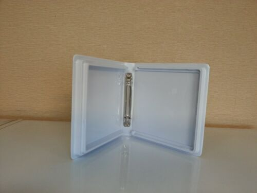 48 PCS 10-CD//DVD TWO 2 RING WHITE ALBUM W//SLEEVE 90146 SF006//240 MADE IN USA