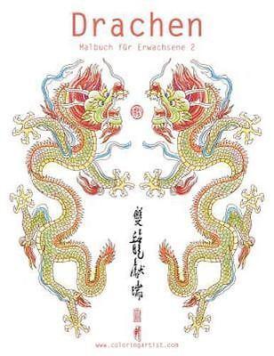 drachen: drachenmalbuch für erwachsene 2nick snels 2016, paperback, 9781533418944 | ebay