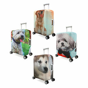 Dog-Design-Elastic-Luggage-Suitcase-Spandex-Cover-Protector-For-20-034-24-039-039-28-039-039