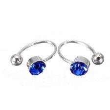 Clip On Earrings For Women Rhinestone Ear Cuff Fake Pierce Ear Clip Girl Gift WA
