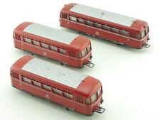 Märklin 3-teiliger Schienenbus 3016 2x Beiwagen 4018 DB 800K 1603-26-15