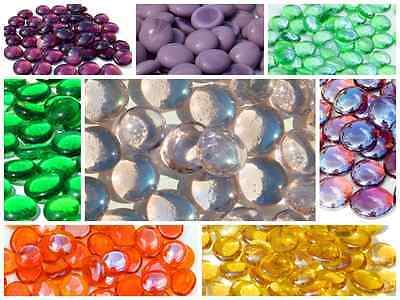 Glass Pebbles / Nuggets / Stones / Gems ~ Choice of Colours & Quantities