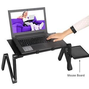 Laptop Notebook Stand Bett Tisch Kühler Ständer Halter Ergonomisch Macbook Neu