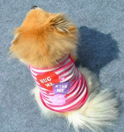 New Puppy Pet Dog Vest Clothes Small Cat Summer T-shirt Apparel Dress XS S M L