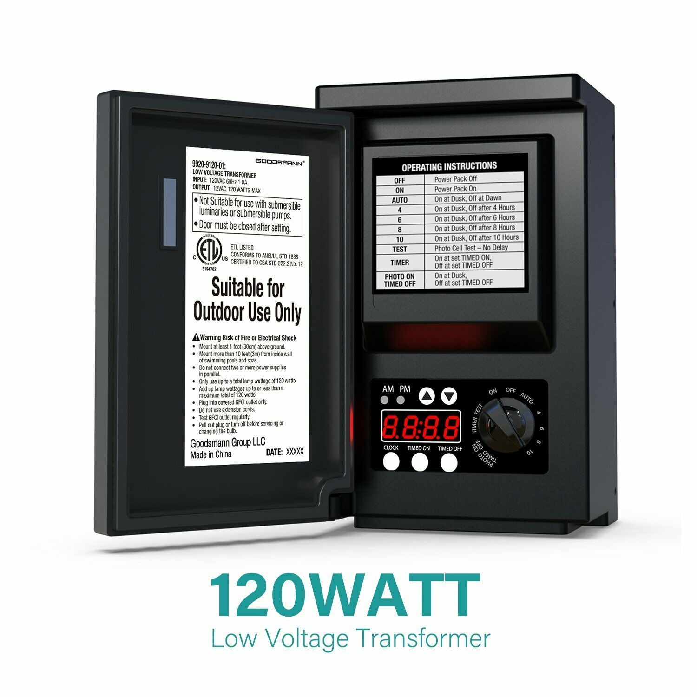 Alliance It150 Low Voltage Landscape Lighting Transformer 150w For Sale Online Ebay