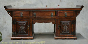 22-034-table-de-bureau-de-meubles-de-la-Chine-Dynastie-Huanghuali-Chine-ancienne