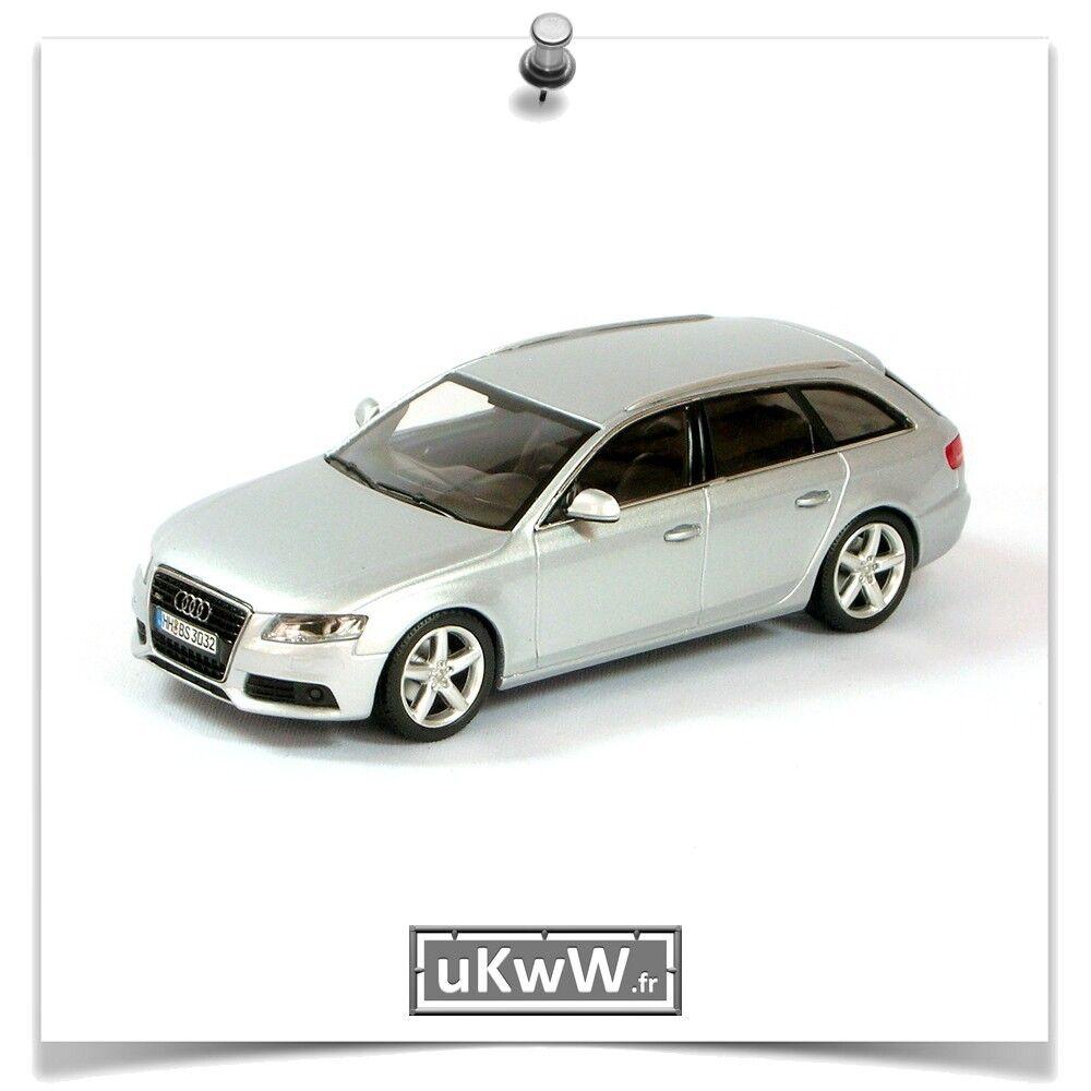 Minichamps 1 43 - Audi A4 Avant 3.2 2008 argent