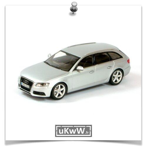 Minichamps 1//43 Audi A4 Avant 3.2 2008 argent