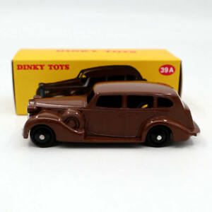 Atlas-1-43-Dinky-Toys-39A-Packard-Eight-Sedan-DEAGOSTINI-Diecast-Toys-Car-Models