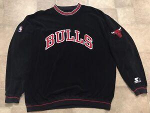 new arrival 20e29 f6851 Velour Type Starter Vintage Size Ebay Chicago Bulls Mens ...