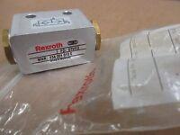 Rexroth Bosch 534-201-010-0 Flow Control Valve Nw4 G1/8 In Pkg