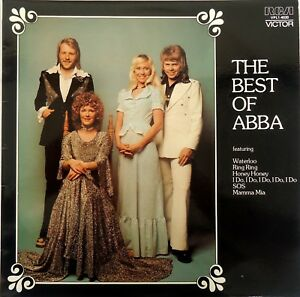 ABBA-The-Best-Of-Abba-LP-1975-RCA-Victor-Records-Australian-issue-VPL1-4020