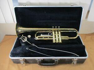 Vintage Selmer Vincent Bach Bundy Student Trumpet with Case & Getzen Mouthpiece
