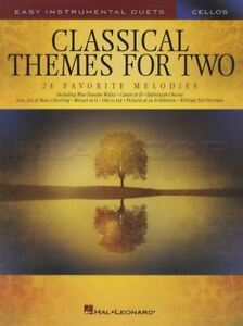 Classical Themes For Two Cellos Facile Instrumentale Duos Violoncelle Partitions Livre-afficher Le Titre D'origine Diversifié Dans L'Emballage