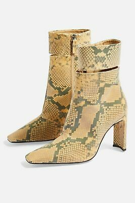 Topshop Hendrik High Ankle Boots Size 6/39 Us 8.5 Products Are Sold Without Limitations Women's Shoes Clothing, Shoes & Accessories