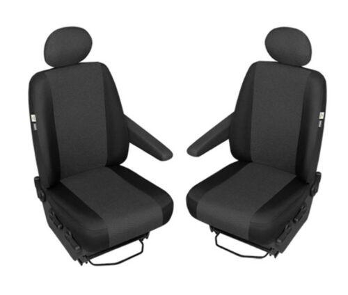 Opel Vivaro 2  Front Einzelsitzbezüge Fahrer 2014 Beifahrer Sitzschoner ab Bj