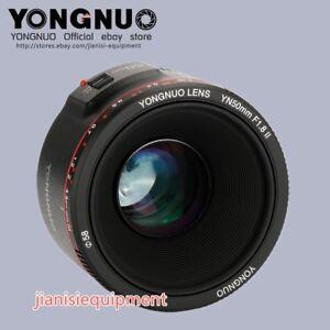 YONGNUO-YN-EF-50MM-F-1-8-II-Auto-amp-manual-Focus-Lens-For-Canon-EF-EOS-Camera