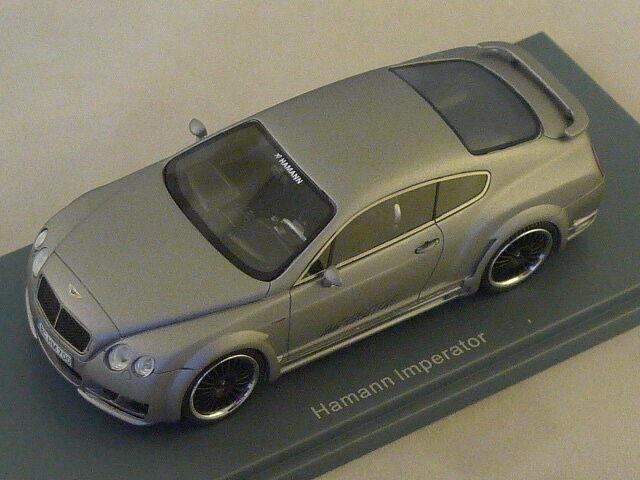 NEO 45700 - Hamann Imperator silver Bentley - 2011   1 43
