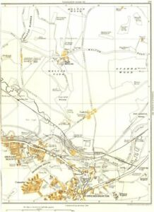Faithful Conisborough.denaby Main,conanby,spotbrough,cadeby,high Melton 1935 Old Map Relieving Rheumatism And Cold Art Prints
