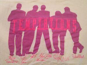 Vintage The Temptations Funk Motown Doo Woop Soul R&B T Shirt (XL ...