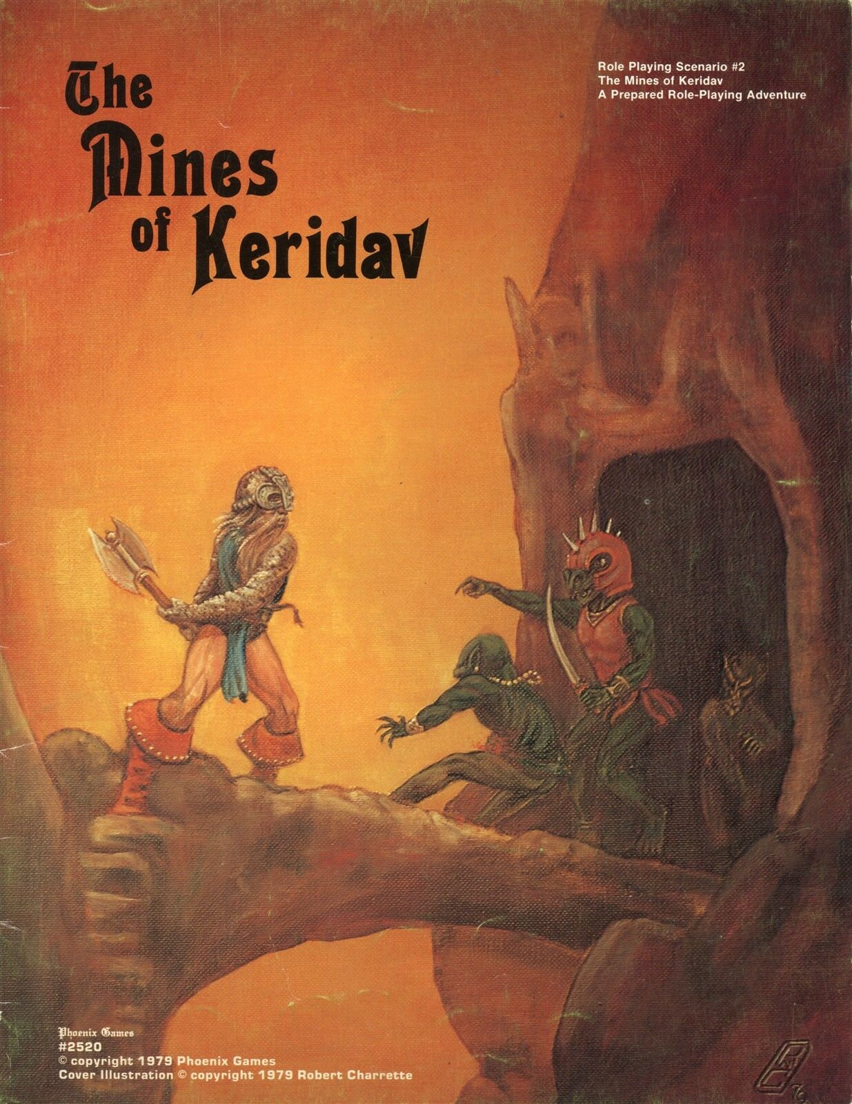 THE MINES OF KERIDAV 2 PHOENIX GAMES 1979 +MAP VGC