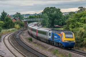 imprimer PHOTO WALL ART train HST Virgin Grande toile de classe 43 chemin de fer