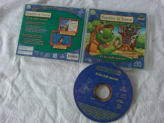 Franklin la Tortue et le club secret - Knowledge Nelvana 2001 - PC/MAC