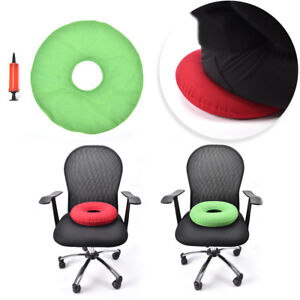 inflatable-rubber-ring-round-seat-cushion-medical-hemorrhoid-pillow-donut-pump-amp
