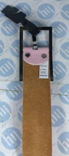 Ladies And Men's Genuine Leather Belt Hot Pink Size L 45mm Wide X 115cm Long
